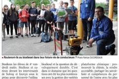 Le collège carbure au bio-diésel