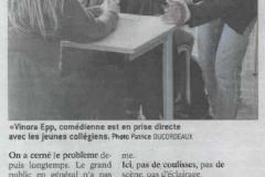 """""""Le théâtre c'est dans ta classe"""" pour les collégiens"""