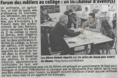 Forum des métiers au collège : un incubateur d'avenir(s)